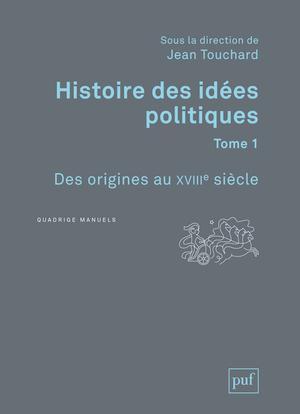 Histoire Des Idees Politiques T.1 (3e Edition)