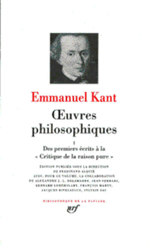 Oeuvres Philosophiques T.1