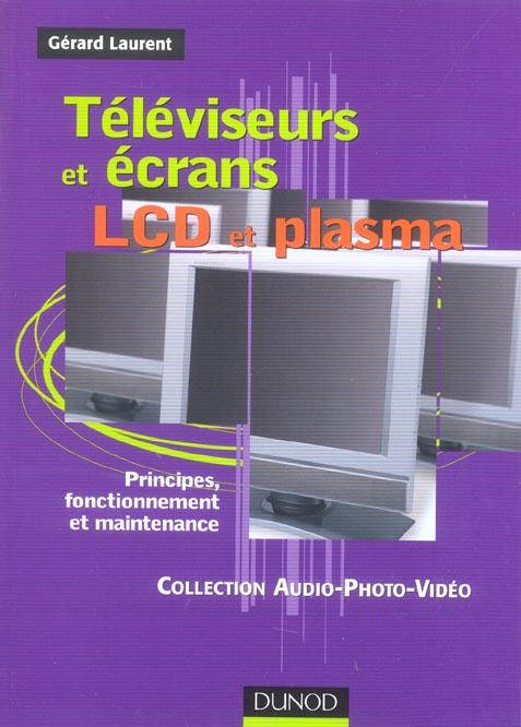 Televiseurs Et Ecrans Lcd Et Plasma ; Principes, Fonctionnement Et Maintenance