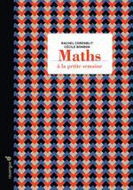 Couverture de Maths à la petite semaine