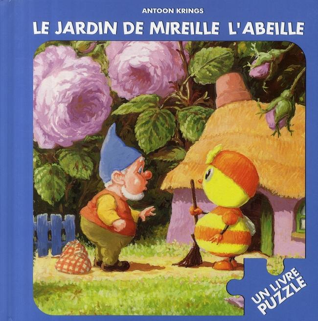 Le Jardin De Mireille L'Abeille ; Un Livre Puzzle