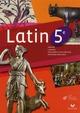 Latin ; 5ème ; manuel