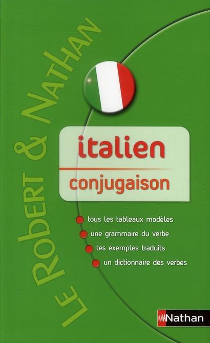Italien ; Conjugaison
