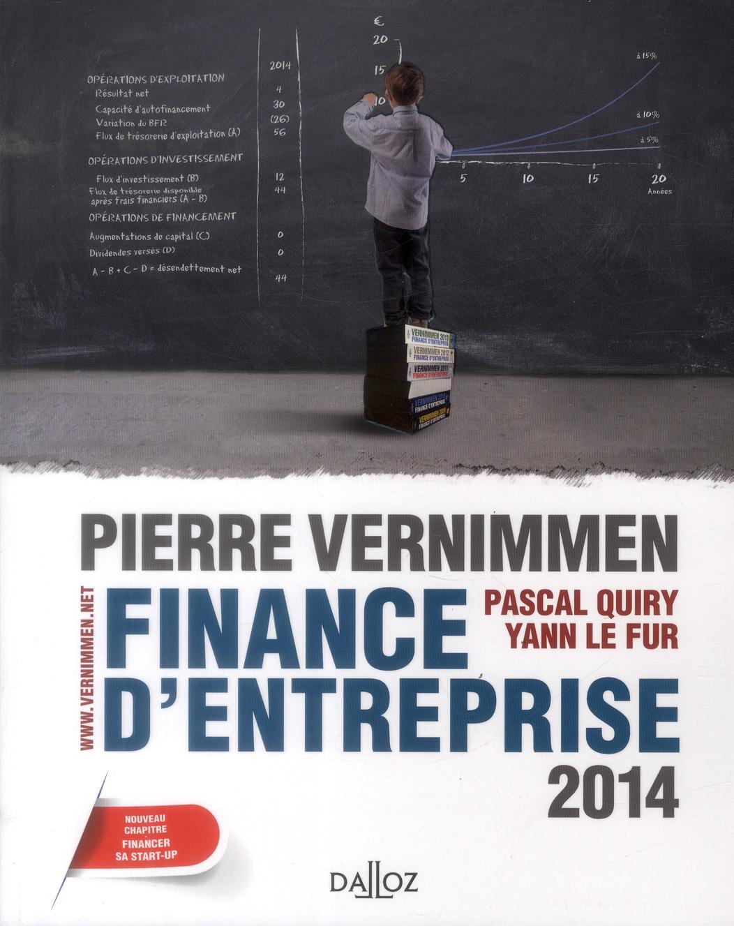 Finance D'Entreprise (Edition 2014)