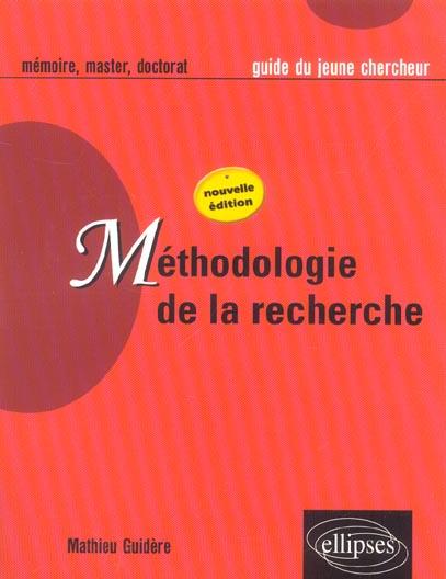 Methodologie De La Recherche