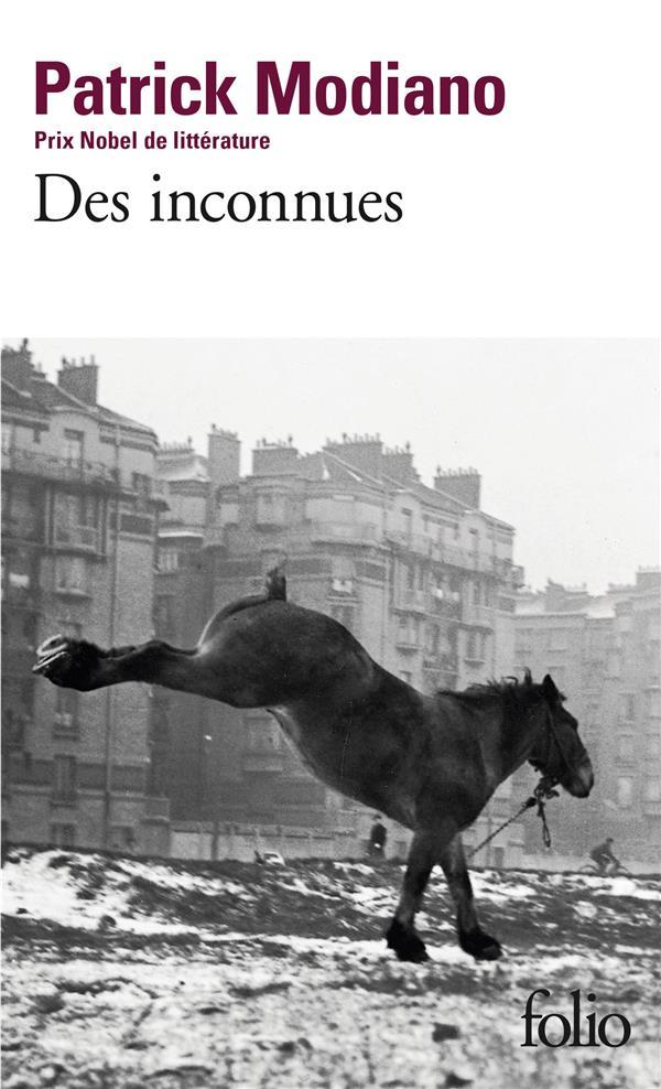 DES INCONNUES