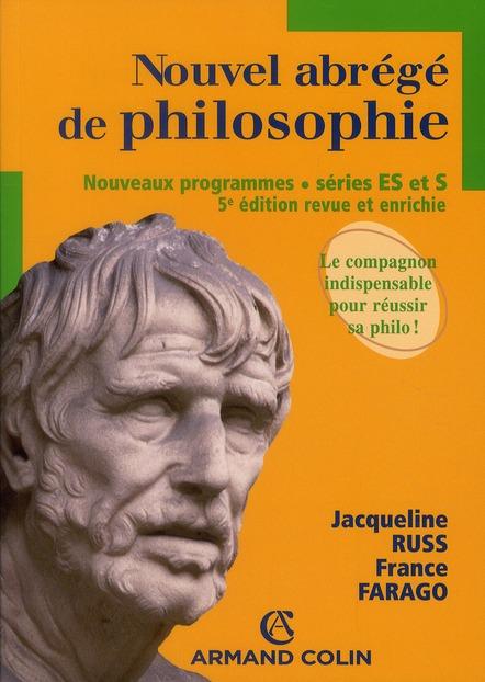 Nouvel Abrege De Philosophie ; Series Es, S (5e Edition)