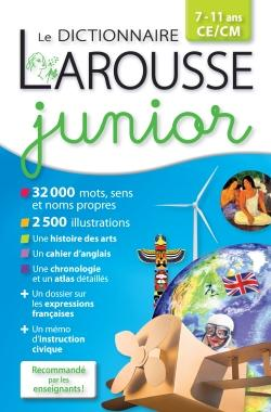 Le Dictionnaire Larousse Junior ; Version Plus