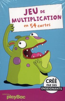 Jeu De Multiplication En 54 Cartes