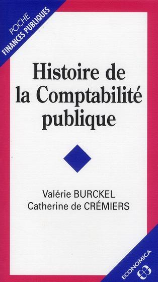 Histoire De La Comptabilite Publique