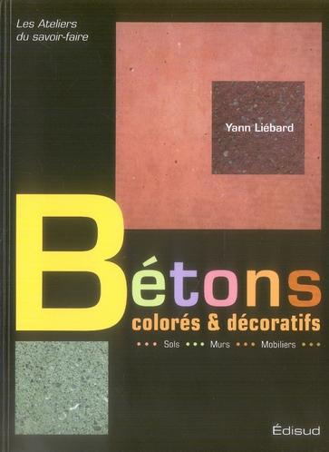 Betons Colores Et Decoratifs