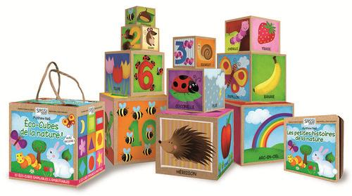 Les Eco-Cubes De La Nature ; Decouvre Les Chiffres, Les Animaux, Les Couleurs Et Les Formes De La Nature