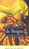 MEMOIRES T1 DU REGNE DE LOUIS XVI A 1820