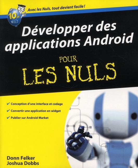 Developper Des Applications Android Pour Les Nuls