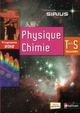SIRIUS ; physique-chimie ; terminale S spécialité ; programme 2012