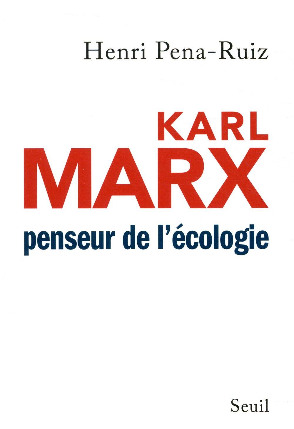 KARL MARX PENSEUR DE L'ECOLOGIE