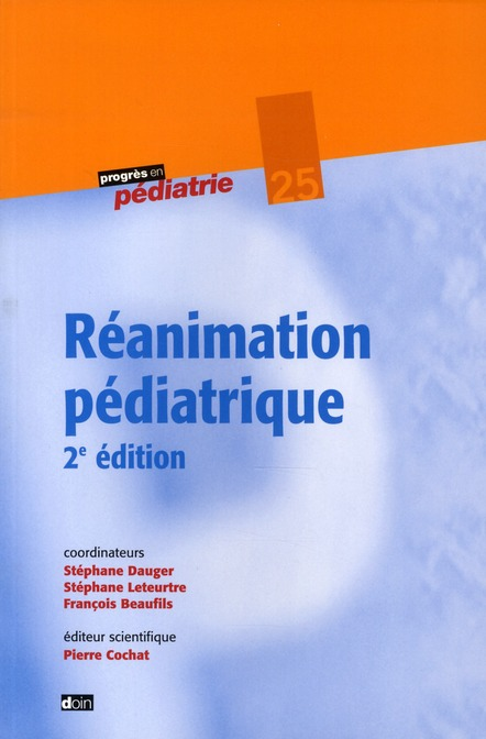 Reanimation Pediatrique 2e Edition - N25