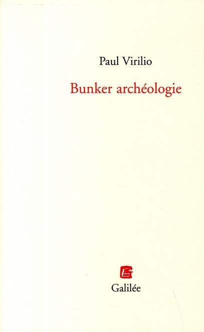 BUNKER ARCHEOLOGIE