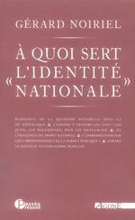 Couverture de À quoi sert l'identité nationale ?