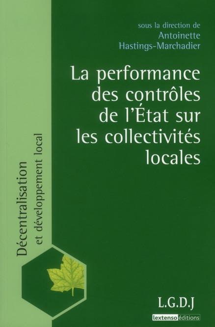 La Performance Des Controles De L'Etat Sur Les Collectivites Locales