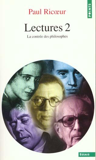LECTURES T2 : LA CONTREE DES PHILOSOPHES