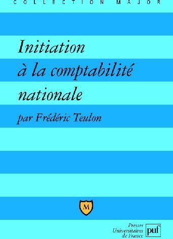 Initiation A La Comptabilite Nationale