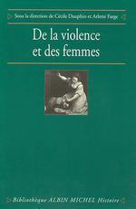 Couverture de De la violence et des femmes