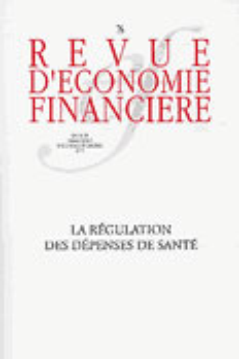 La Regulation Des Depenses De Sante - No76