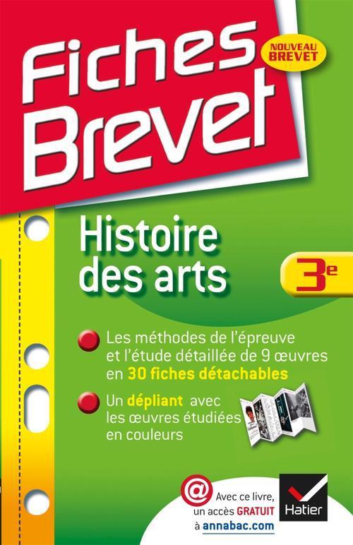 Fiches Brevet; Histoire Des Arts ; 3eme