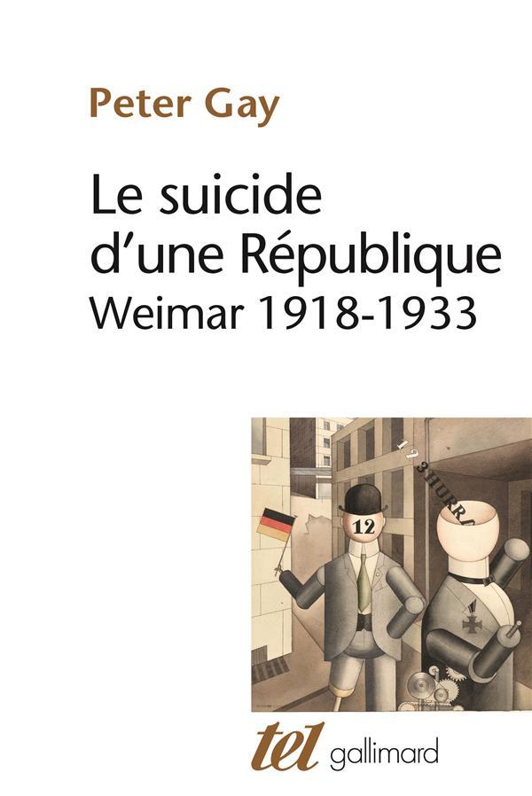 LE SUICIDE D'UNE REPUBLIQUE
