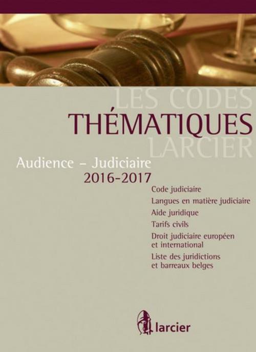Audience - judiciaire 2016-2017