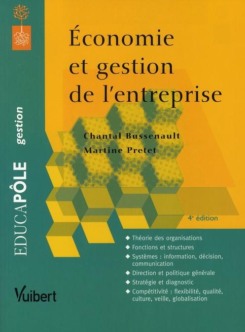 Economie Et Gestion De L'Entreprise (4e Edition