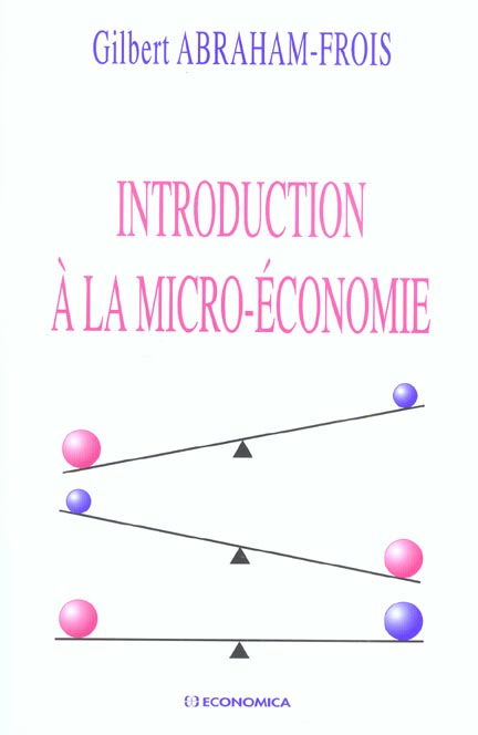 Introduction A La Micro-Economie
