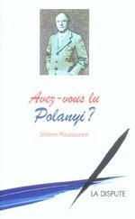 Couverture de Avez-vous lu Polanyi ?