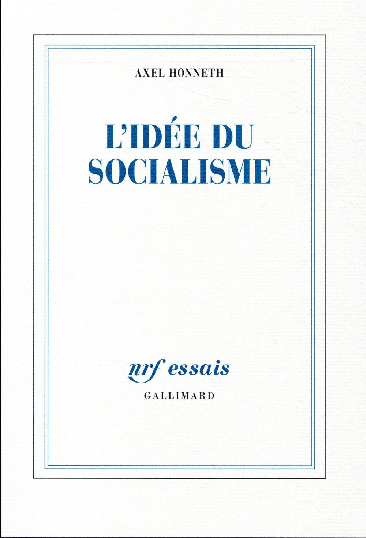 L'IDEE DU SOCIALISME