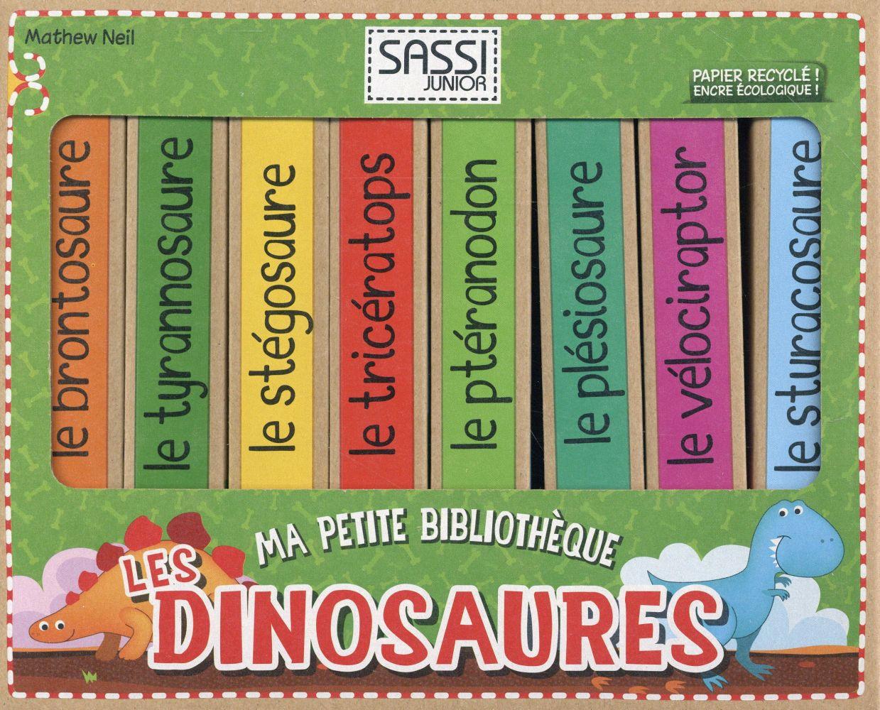 Ma Petite Bibliotheque ; Les Dinosaures