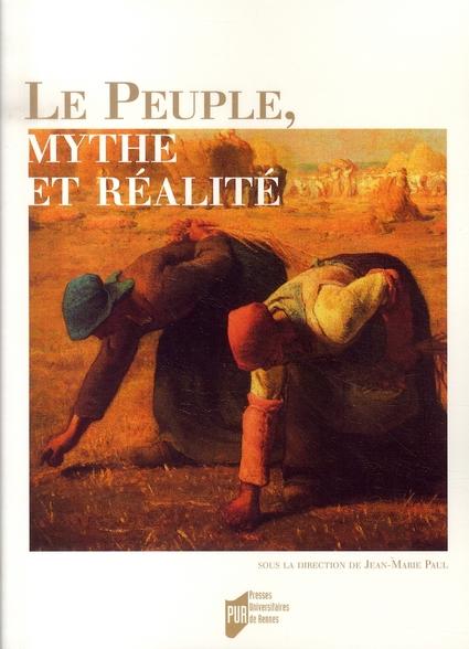 LE PEUPLE, MYTHE ET REALITE