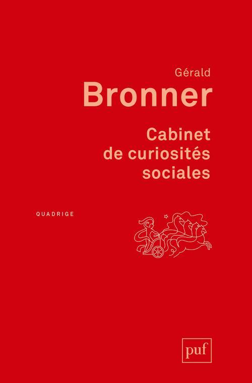 CABINET DE CURIOSITES SOCIALES