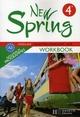 New spring ; anglais ; 4ème ; LV1 ; workbook (édition 2008)