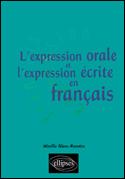 L'Expression Orale Et L'Expression Ecrite En Francais