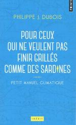 Couverture de Petit manuel climatique pour ceux qui ne veulent pas finir grillés comme des sardines