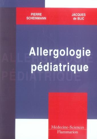 Allergologie Pediatrique