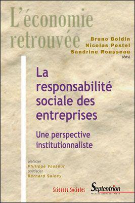 Responsabilite Sociale Des Entreprises