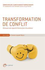 Couverture de Progresser dans le conflit ; pour une approche constructive des conflits