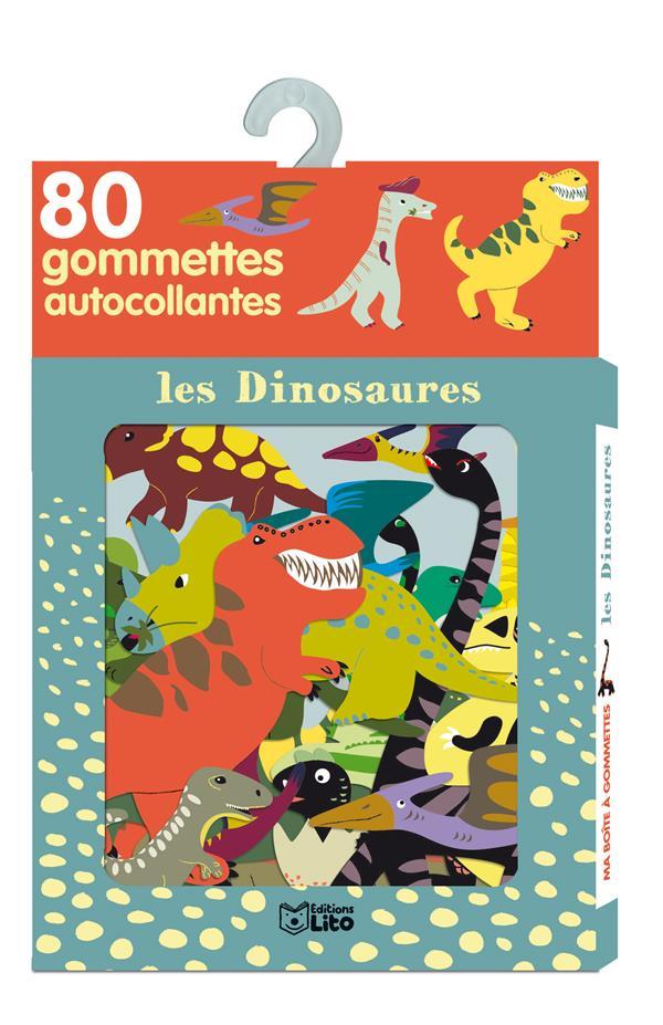 Les Dinosaures ; Inclus 80 Gommettes Autocollantes
