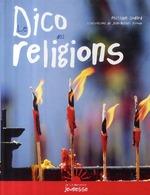 Couverture de Le dico des religions