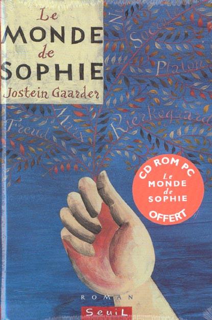 Monde De Sophie. Roman Sur L'Histoire De La Philosophie (Avec Le  Cd-Rom) (Le)