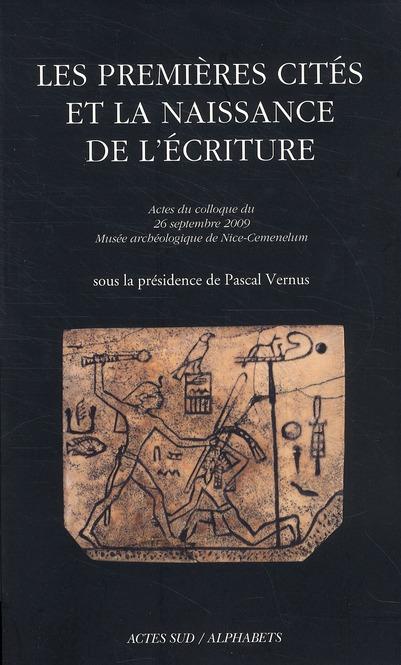 Les Premieres Cites Et La Naissance De L'Ecriture