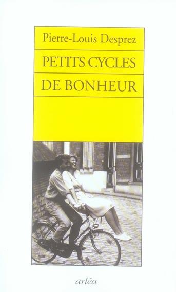 PETITS CYCLES DU BONHEUR