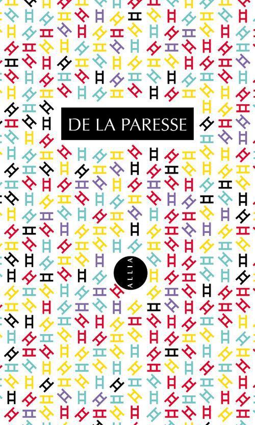 DE LA PARESSE (COFFRET UNE APOLOGIE DES OISIFS / LE DROIT A LA PARESSE)